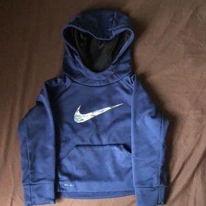 Nike blue sweater